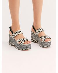 Free People - Dolce Platform Wedge By Fp Collection - Lyst