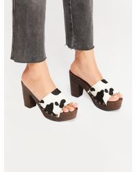 Free People - Dream State Clog By Jeffrey Campbell - Lyst