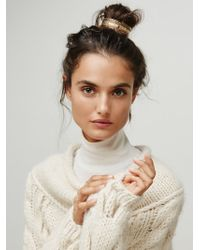 Free People - Engraved Bun Cuff - Lyst