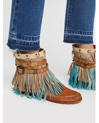 Free People | Ibiza Moccasin Boot | Lyst