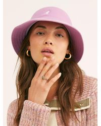 Free People Kangol Stripe Casual Bucket Hat - Multicolour
