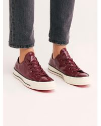 Free People - Patent Low-top Chuck - Lyst
