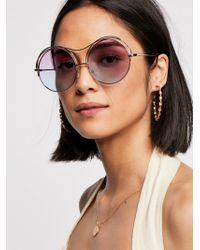 Free People - Heartbreaker Sunglasses - Lyst