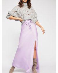 Free People - Boheme Skirt By Cali Dreaming - Lyst