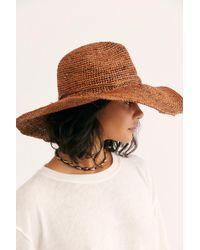 Free People - Marley Straw Hat - Lyst