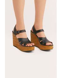 Free People - Sunflower Wedge Sandal By Fp Collection - Lyst