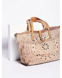 Free People - Imperiali Distressed Tote By Campomaggi - Lyst