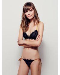 Free People - Bedroom Eyes Tie Bikini Bedroom Eyes Bralette - Lyst