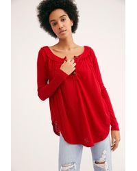 Free People - We The Free Must Have Henley - Lyst
