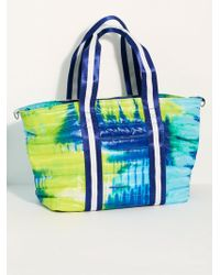 Free People - Think Royln Tie Dye Wingman Bag - Lyst
