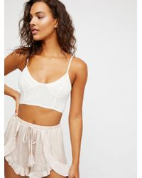 Free People - Cascading Petal Short - Lyst