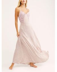 Free People - Song Of Summer Maxi Dress - Lyst