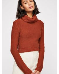 Free People - Solar Eclipse Pullover Jumper - Lyst