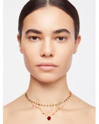 Free People - Serefina Delicate Healing Necklace - Lyst