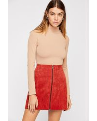 Free People - Like I Do Seamless Turtleneck - Lyst