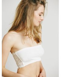 Free People | Seamless And Lace Reversible Bandeau | Lyst