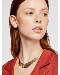 Free People - Faye Collar Necklace - Lyst