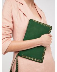 Free People - Moonlight Studded Clutch - Lyst