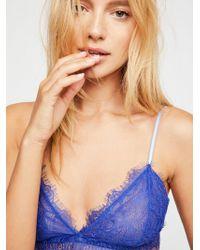 Free People - Bedroom Eyes Bralette Bedroom Eyes Tie Bikini - Lyst