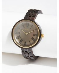 Free People - Cassia Wood Watch By Jord - Lyst