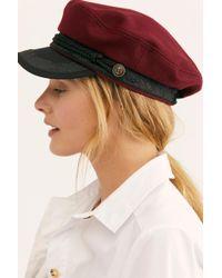 Free People - Brigitte Lieutenant Hat - Lyst