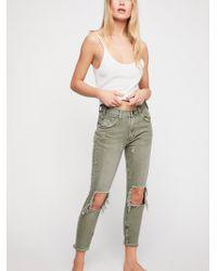 Free People - Oneteaspoon High Waist Freebird Skinny Jeans - Lyst