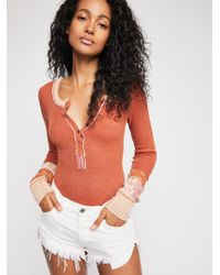 Free People - We The Free Railroad Henley - Lyst