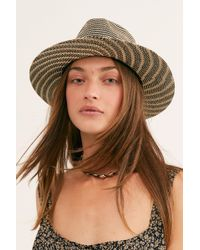 Free People - Perrie Woven Hat - Lyst