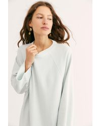 2e21fdf98f Free People Terri Cocoon Pullover in Natural - Lyst
