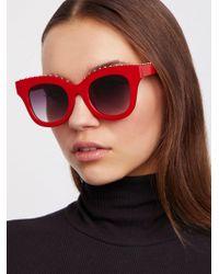 Free People | Study Buddy Sunglasses | Lyst