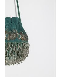 Free People - Beaded Embellished Pouch By Fp Collection - Lyst