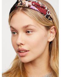 Free People - Scarf Print Headband - Lyst
