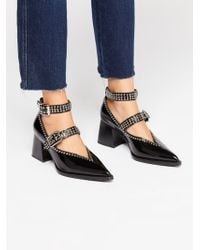 Free People - Walk On By Heel - Lyst