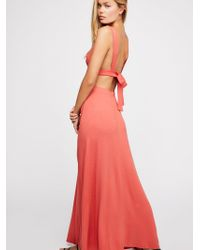 Free People - Like It Hot Maxi Dress - Lyst