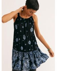 Free People - Talk To Me Trapeze Slip - Lyst