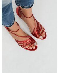 Free People - Shoes Heels & Wedges Disco Fever Heel - Lyst