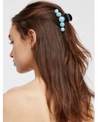 Free People - Pearl Bubble Claw - Lyst