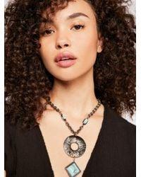 Free People - Farrah Pendant Necklace - Lyst