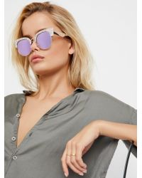 Free People - West Side Club Master Sunnies - Lyst