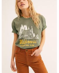 Free People - Wilderness Club Tee By Retro Brand - Lyst