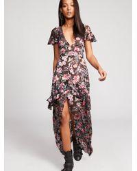 Free People   Vivi Burnout Maxi Dress   Lyst