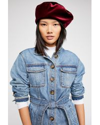 Free People - Audrey Beret By Brixton - Lyst