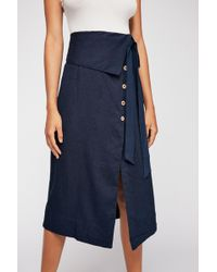 Free People - Now That I Have You Skirt By Endless Summer - Lyst