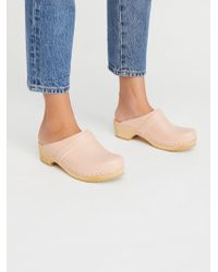 Free People - Shoes Clogs Husband Clog - Lyst