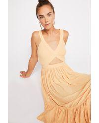 97e864f015 Free People - Royce Midi Dress By Fp Beach - Lyst