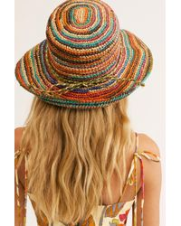 Free People - Sweet Pea Straw Hat - Lyst