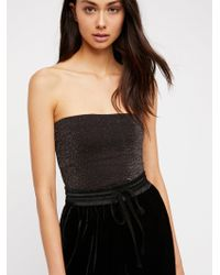 e2910f4639 Free People Night Out Tunic in Black - Lyst