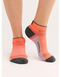 Free People - Ultra Cool-lite Pro Low Running Sock By Wigwam - Lyst