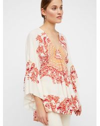 Free People   Sunset Dreams Printed Tunic   Lyst