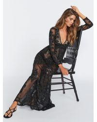 Free People - Temecula Maxi Dress By For Love & Lemons - Lyst